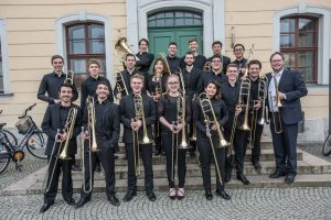 18. Feb. 2017: Konzert der Posaunenklasse Weimar, Ev. Kirche Eilshausen