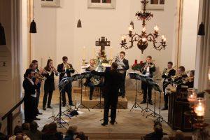 "9. Dezember 2018: Konzert ""genesis brass"", Friedewalde"