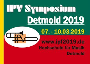 7. - 10. März 2019: IPV Symposium, Detmold